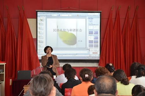 整体文明形象 西宁市努力打造社区居民学习平台图片