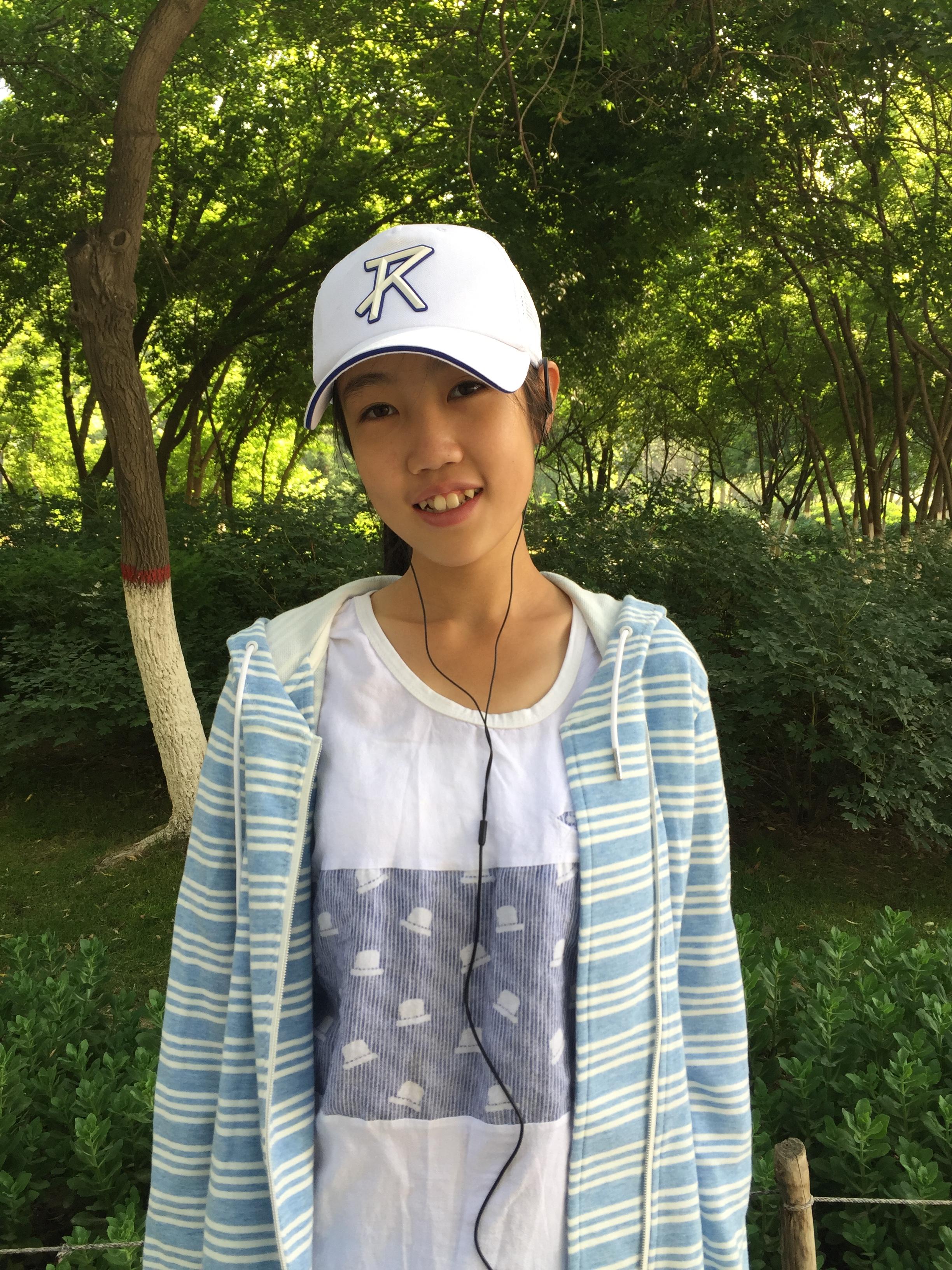 赵秦,西宁市虎台中学八年级学生.-西宁市文明网图片